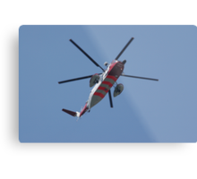 Coast Guard Helicopter Metal Print