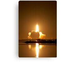 Shuttle Endeavor Night Launch. Canvas Print