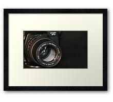 Sigma Zoom Framed Print
