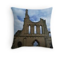 Byland Abbey 6 Throw Pillow