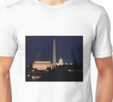 Night Falls on the Capital Unisex T-Shirt