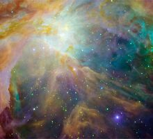 Orion Nebula by luckylucy