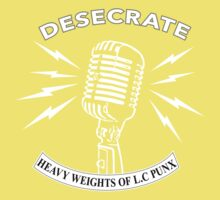 Desecrate - Heavy Wieghts Of L.C PUNX 2 Kids Clothes