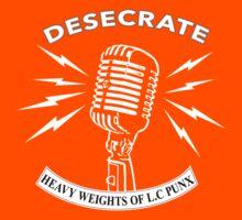 Desecrate - Heavy Wieghts Of L.C PUNX 2 Kids Clothes