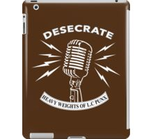 Desecrate - Heavy Wieghts Of L.C PUNX 2 iPad Case/Skin