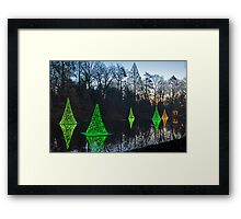 Reflections of Christmas Framed Print