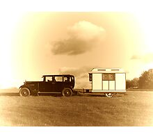 The Golden Age of Travel Photographic Print