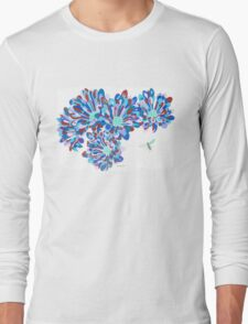Hover Fly Chrysanths Long Sleeve T-Shirt