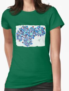 Hover Fly Chrysanths Womens Fitted T-Shirt