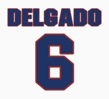 National baseball player Carlos Delgado jersey 6 by imsport