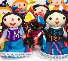 Otomi Woman Dolls by Alejandro Durán Fuentes