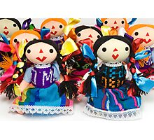 Otomi Woman Dolls Photographic Print