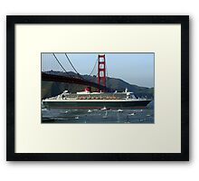 Under The Bridge. Framed Print
