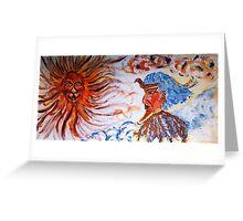 Ra the Sun God Greeting Card