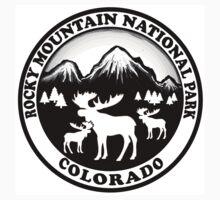 Rocky Mountain National Park Colorado moose design by artisticattitud