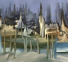 Futuristic landscape by Alejandro Silveira