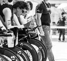 Trek Factory Racing (TTT Warm Up) by Wei Yuet Wong