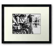 Trek Factory Racing (TTT Warm Up) Framed Print
