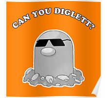 Can You Diglett? Poster
