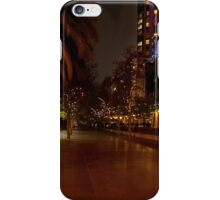 Melbourne at Night 03 iPhone Case/Skin