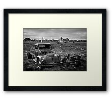 Farm Days Framed Print