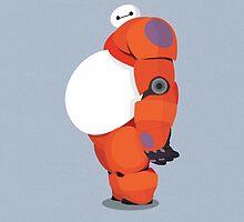 Big Hero 6 - Baymax w/o Text by Mac Reddin