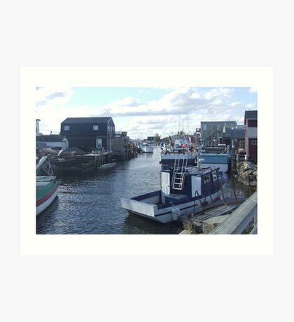 Fisherman's Cove, Nova Scotia, Canada Art Print