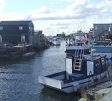 Fisherman's Cove, Nova Scotia, Canada by kk1963