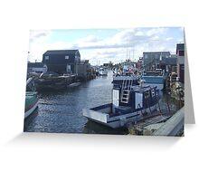 Fisherman's Cove, Nova Scotia, Canada Greeting Card