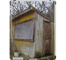 Yellow shack iPad Case/Skin