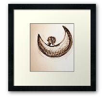 Half Moon Framed Print