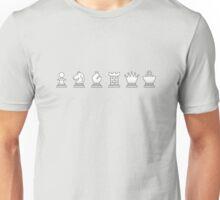 Chess - White pieces Unisex T-Shirt