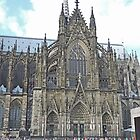 Cologne Cathedral, Germany by Margaret  Hyde