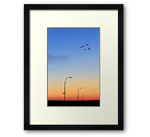 Passage Into Dawn Framed Print