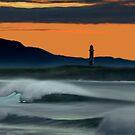 Wollongong Beach @ Dusk by ShaneMartin