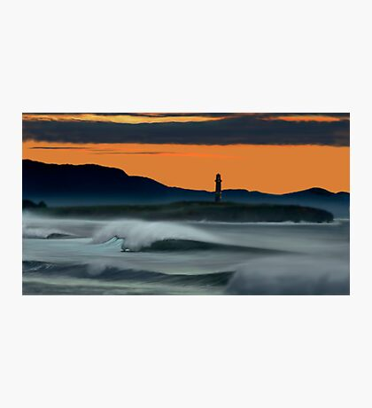 Wollongong Beach @ Dusk Photographic Print