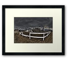 Ranch Motel Framed Print