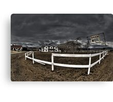 Ranch Motel Canvas Print