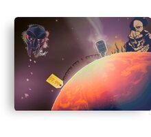 MF DOOM - Planet DOOM Metal Print