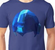 Fractal Blue Hero Unisex T-Shirt