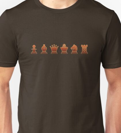 Chess - Brown pieces T-Shirt