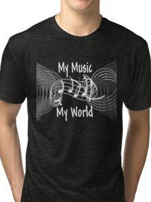 My Music, My World Tri-blend T-Shirt