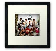 With love from Belgium Framed Print
