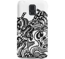 Fruit 1 - An Aussie Tangle Black & White  Samsung Galaxy Case/Skin