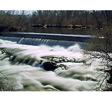Paper Mill Falls  Photographic Print