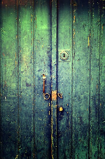 Blue Door In Avanos by Josh Wentz