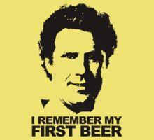 I Remember My First Beer - Brennan Kids Tee