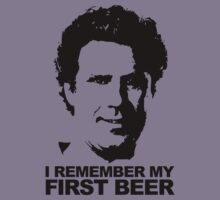 I Remember My First Beer - Brennan Kids Tee