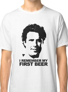 I Remember My First Beer - Brennan Classic T-Shirt