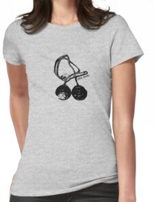Click Clacks Womens Fitted T-Shirt